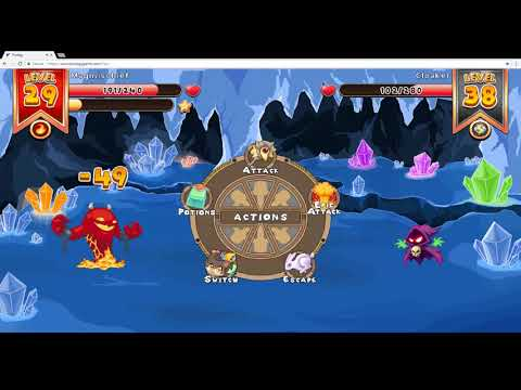 Prodigy Math Game - Catch Arcticlaw and Ice Neek