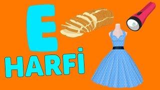 E Harfi - ABC Alfabe Şarkısı  Akıllı Bıdık