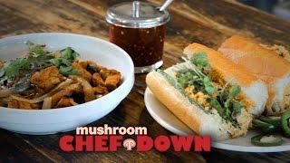 Shiitake + Tofu Cookoff At Phorage -  Mushroom Chef Down!