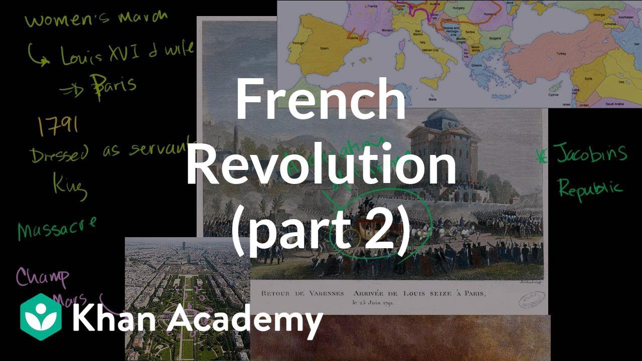 the french revolution counter revolution radicalizing and the french revolution part 2
