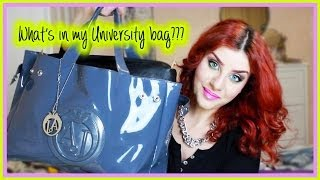 Cosa c'è nella mia borsa da Università? What's in my University bag? :) | None Fashion and Beauty Thumbnail