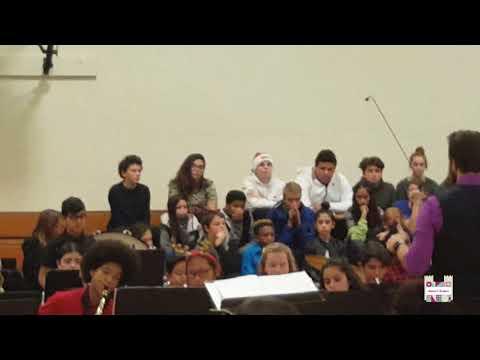 Nathan performed at Twentynine Palms junior high school