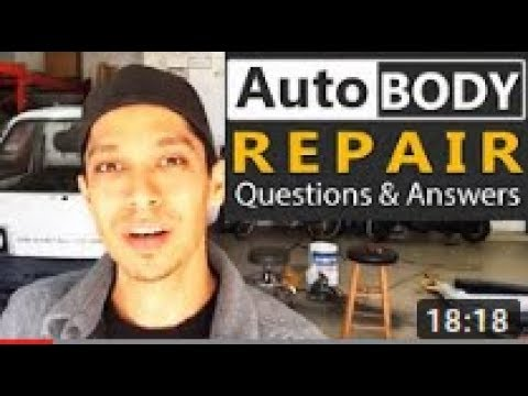 Auto Body Repair Questions & Answers with Tony Bandalos