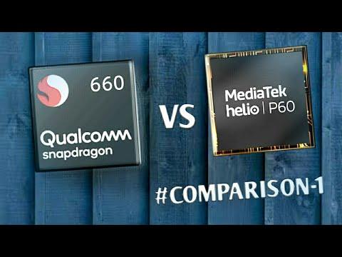Mediatek helio p60 vs Snapdragon 660 comparison   Which one is better ?
