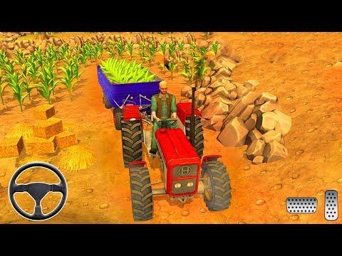 جرار الزراعة الحقيقية محاكي - محاكي القيادة - العاب سيارات - ألعاب أندرويد