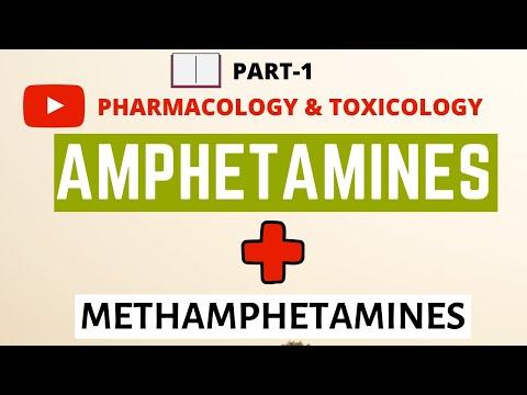 Amphetamines and Methamphetamines Part 1 | Psychostimulants | Pharmacology | Toxicology