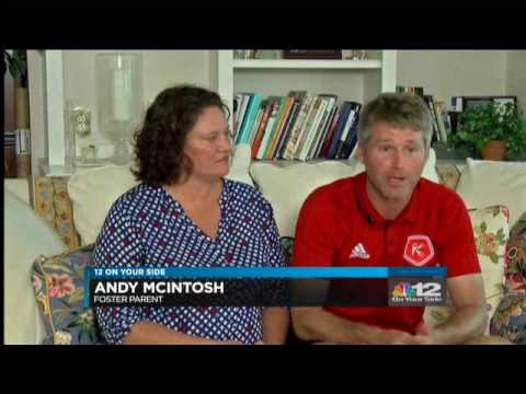 CCC's Unaccompanied Refugee Minor Foster Care program on Channel 12.