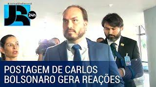 Mourão Maia E Alcolumbre Comentam Postagem De Carlos Bolsonaro