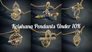 Krishna Gold Pendants