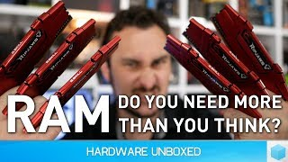 How much RAM do gamers need? 4GB vs. 8GB vs. 16GB vs. 32GB [2017]