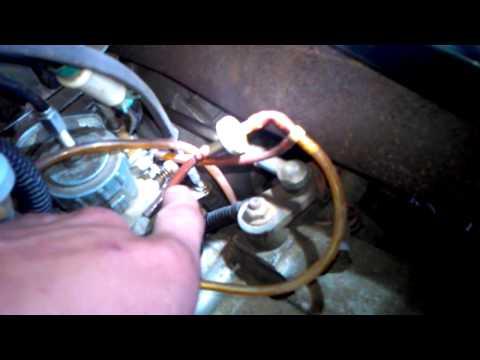 Polaris Trail Boss Vacuum Lines Youtube