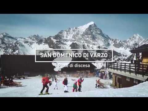 NEVEAZZURRA - San Domenico di Varzo (VB) - Stazione sciistica, discesa
