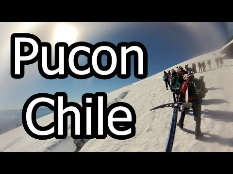 Pucon, Chile - Hiking the Viarrica Volcano