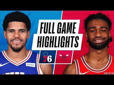 76ERS at BULLS | FULL GAME HIGHLIGHTS | May 3, 2021