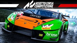 Assetto Corsa Competizione Gameplay German #1 – Huracan in Misano | Let's Play Regen & Nacht Deutsch