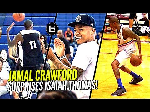 Jamal Crawford CRAZY Dimes in Isaiah Thomas