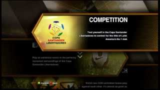Pro Evolution Soccer 13 (Just showing menu,gameplay getting ready)