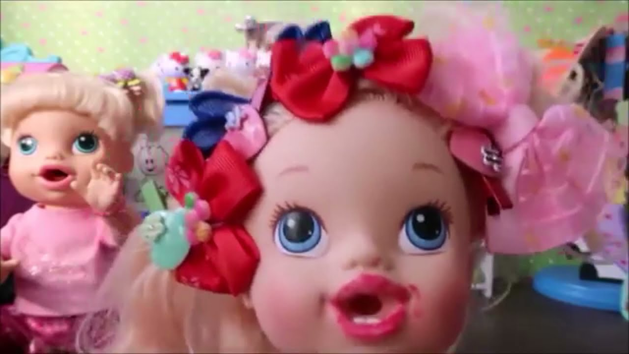 UMA EXPLOSÃO DE FOFURA DA MINHA BABY ALIVE AMANDINHA