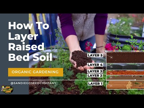 Layering Soil in a Raised Garden Bed