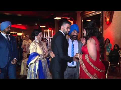 Tere kanna de vich wedding highlights