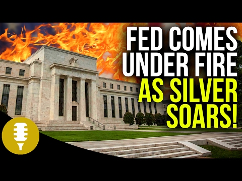 Fed Comes Under Fire As Silver Soars | Golden Rule Radio #5