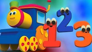 Bob el tren | Canción número | Canciones para niños | Bob The Train | Number Song | Learn Numbers