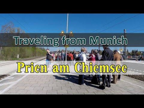 [เที่ยวยุโรป] Traveling to Prien am Chiemsee from Munich : Germany Travel Vlog Ep68