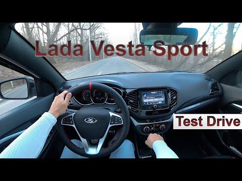 Lada Vesta Sport 2020 POV Test Drive