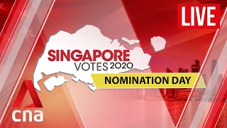[live Hd] Ge2020: Singapore General Election Nomination Day Show
