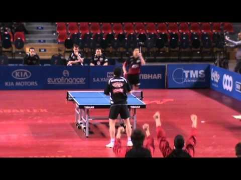 WANG JIAN JUN - HE ZHI WEN CHAMPIONS LEAGUE 2010-2011 TABLE TENNIS