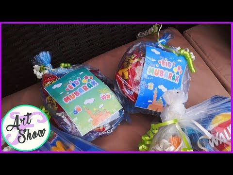 DIY Eid Party bags! I Easy and Cost effective | Fatema's Art Show