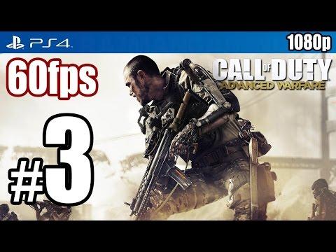 Call of Duty Advanced Warfare (PS4) Walkthrough PART 3 60fps [1080p] Lets Play TRUE-HD QUALITY
