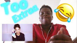 Liza Koshy Too-Cutting My Boyfriends Hair! Q and Hey! (Reaction)