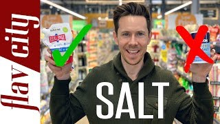 5 Best Salts For Cooking...And One To Avoid - Salt Grocery Haul