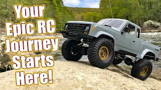 Start YOUR New Off-Road Journey! Element RC Enduro Sendero Trail Truck Review & Action   RC Driver