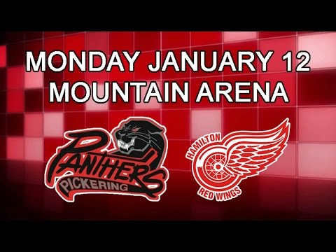 Pickering Panthers at Hamilton Red Wings OJHL Highlights January 12 2014