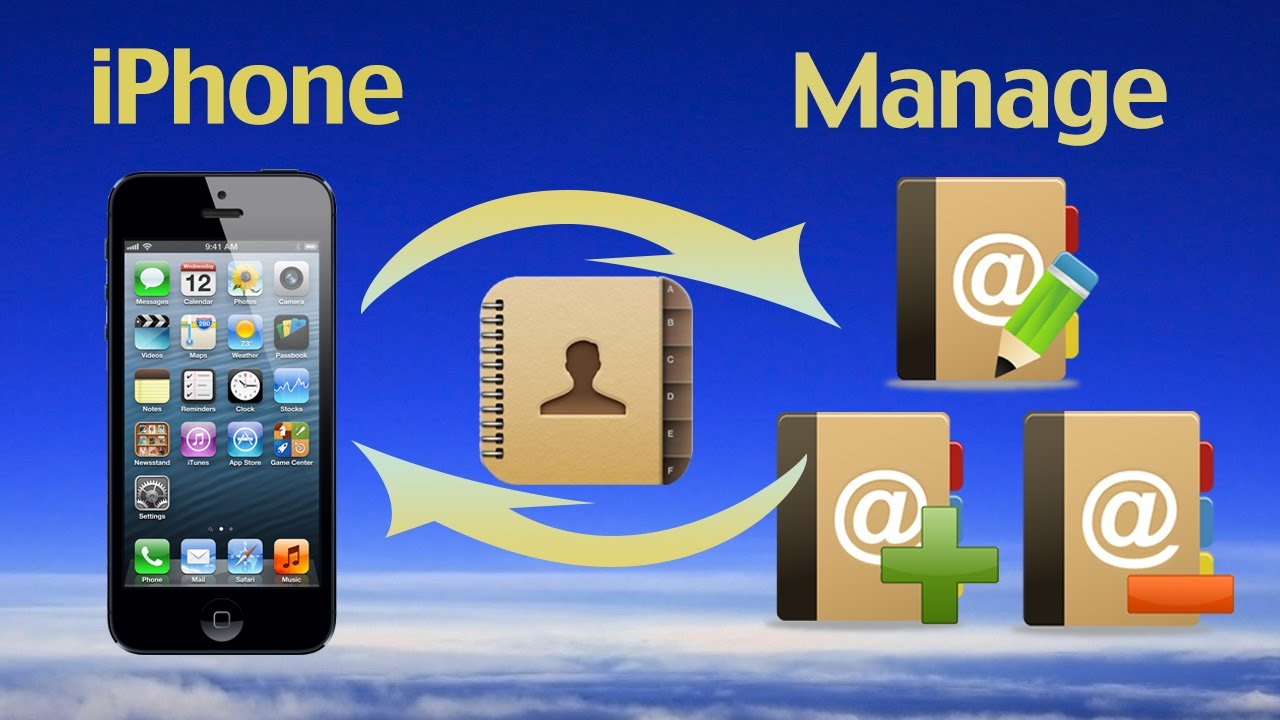 How To Manage Iphone Contacts Backup My Iphone Contacts On Windows With Best Contact Manager Youtube