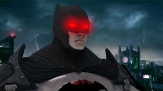 THE NIGHTMARE BATMAN   Batman Arkham Knight #5