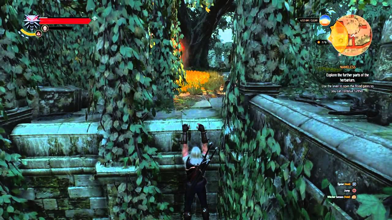 The Witcher 3 Nameless Quest Garden Help Youtube