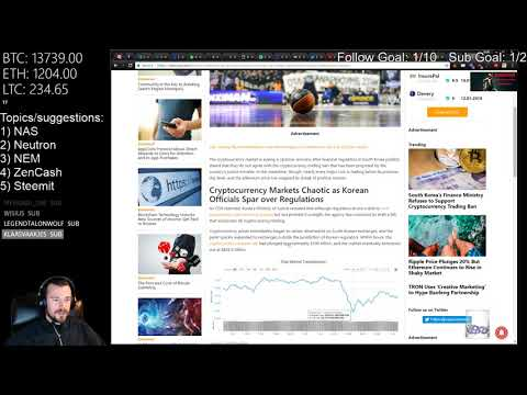 Cryptocurrency News & Research 2018-01-11 - Decred, ONION, ACT, WaBi, DigiByte, AST, ETN