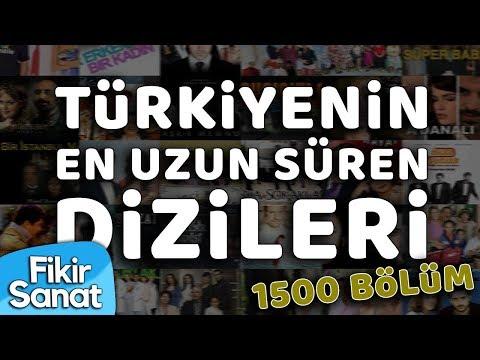 Türkiye'nin En Uzun Süren Dizileri (1500+ Bölüm )