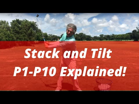 Stack And Tilt P1-P10 For Better Ball Striking | Golf Tips | PGA Golf Pro Jess Frank