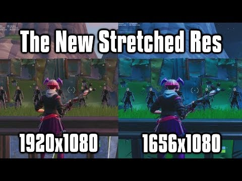 How To Make Fortnite Stretched