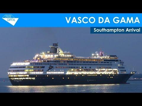 Vasco Da Gama Arrives In Southampton (27/08/2019)
