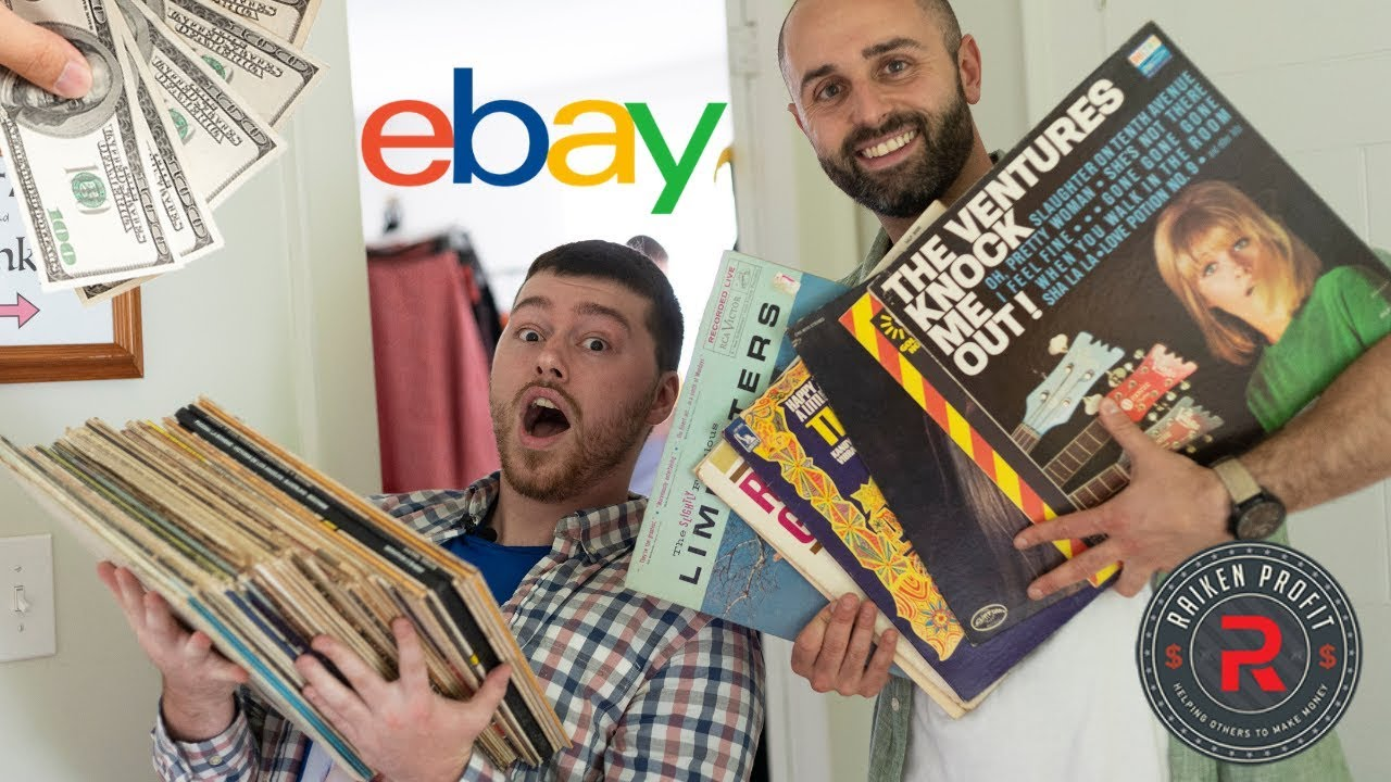 Thrifting VINYL RECORDS  to Sell on eBay and BEST Sourcing TIPS  for BIG PROFITS with Thrift School