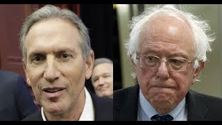 """Два мира — два Шапиро"" - Bernie Sanders и Howard Schultz"