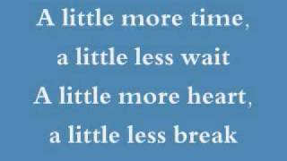 Jessica Simpson A Little Bit With Lyrics
