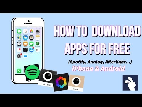 How to DOWNLOAD APPS FOR FREE with TUTUAPP // iPhone & Android (Analog, Spotify...) 2018