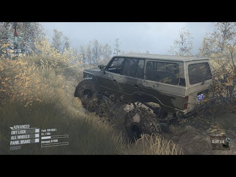 Spintires Mudrunner: Swamp Trails Map W.I.P