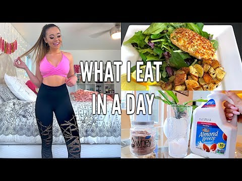 WHAT I EAT IN A DAY TO LOSE WEIGHT/STAY FIT!